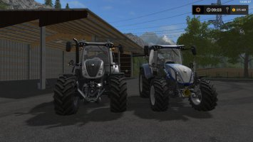 NEW HOLLAND T6 and T5 140 fs17