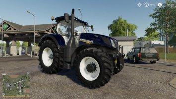 New Holland T7 Blue Chrome Power fs19