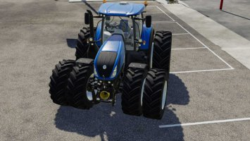 New Holland T7 Series with Michelin Double Wheels fs19