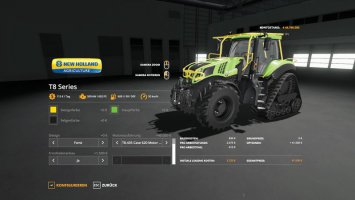 New Holland T8 Tuning