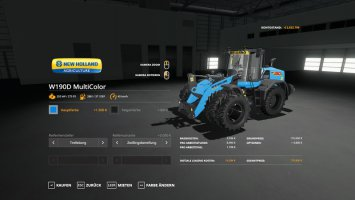 New Holland W190D - MultiColor and more