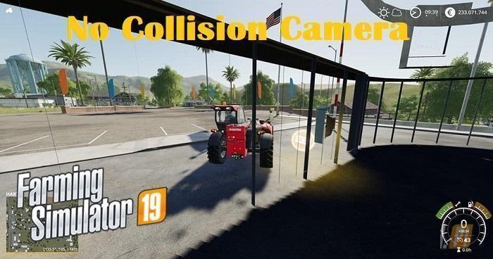 No Collision Camera FS19