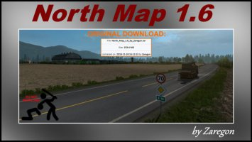 North Map 1.6 ets2