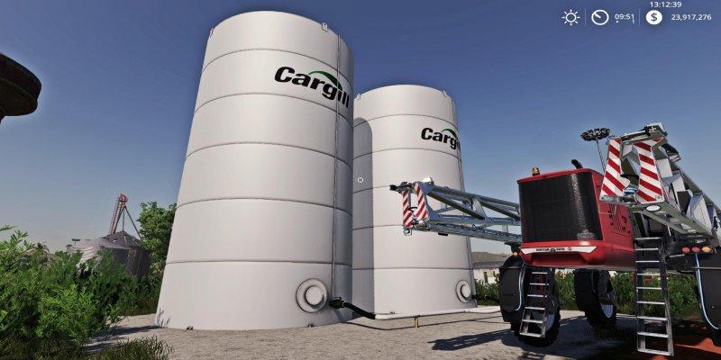 Placeable Cargill Liquid Fert Refill Tanks Fs19 Mod