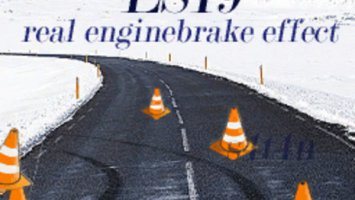 Real engine braking effect V 1.0.0 beta