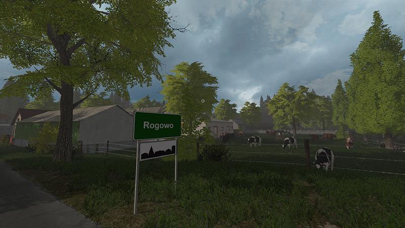 Rogowo Map v3.1 FS17