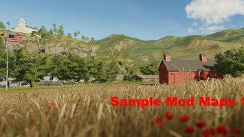 Sample mods map us (Ravenport) complete