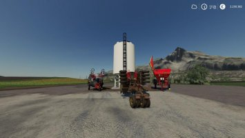 Seed / Lime / Liquid Fertilizer - Placeable filling station