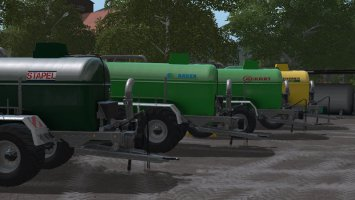 Slurry tanker pack fs17