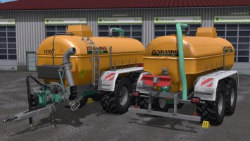 Slurry tanker pack v2.0 fs17
