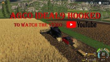 AGCO Ideal 9 Hooked v1.1 fs19
