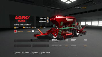 Agromasz Salvis 3800 - MetallicEdit