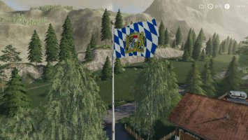Bayern Flagge platzierbar
