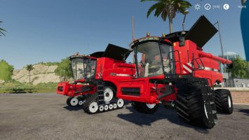 Case IH AxialFlow 9240 Series + Cutters by Stevie fs19