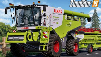 Claas Lexion 700 Series Full Pack v3