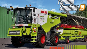 Claas Lexion 780 Full Pack v2