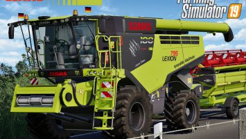 Claas Lexion 795 Monster Limited Edition fs19