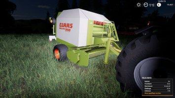 Claas Rollant 250 v1.1 fs19
