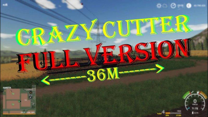 Crazy Cutter PowerFlow FullVersion v2.0 FS19