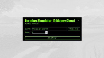 Farm Simulator 19 Money Cheat by 5XVD