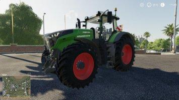 Fendt 1000 im agrarservice-mv Design