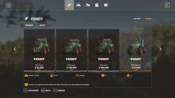 Fendt Tractors v1.0.0.2