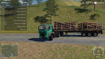 Fliegl Timber Runner With Autoload Wood