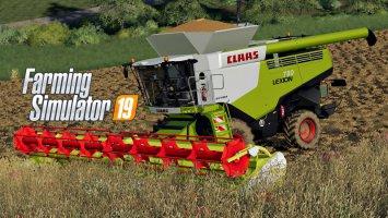 FS19 Claas LEXION 780