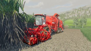 Holmer Terra Dos T4 + Holmer HR12 for Sugarcane fs19