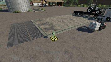 Hydraulic loading ramp tractors-fs17