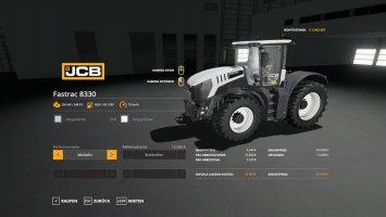 JCB Fastrac 8330 - MultiColor fs19