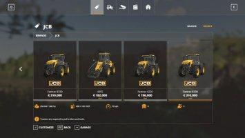 JCB Tractors v1.0.0.2 fs19