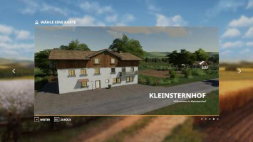 Kleinsternhof Map