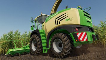 Krone BigX 580 FS19