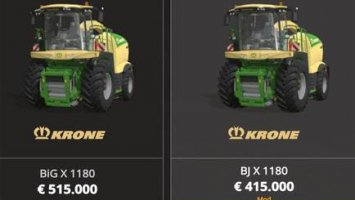 Krone X1180 BJ with tank 50.000L fs19