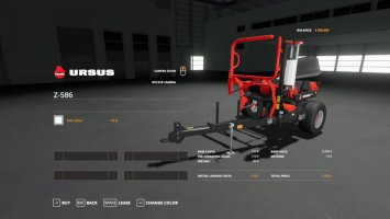 KUHN FBP 3135 and URSUS Z586 fs19