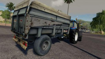 Maupu 10t tipper rather oldschool