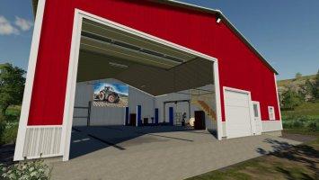 Mechanic Garage v2.0 fs19