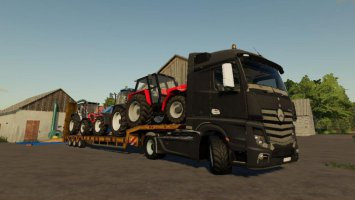 Mercedes Actros MP4 fs19