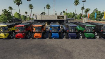 New Holland CR10.90 Pack By Gamling fs19