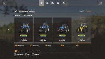 New Holland tractors v1.0.0.2 FS19