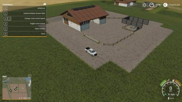 Placeable small cow yard