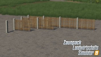 Placable Fence Package