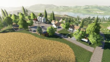 SimFarmer Felsbrunn Mountain Top Farm