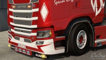 Special Griffin skin for Scania Next Gen (SCS) ETS2