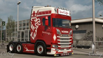 Special Griffin skin for Scania Next Gen (SCS) ets2