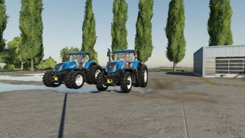 US New Holland Tractor Pack fs19