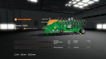 Amazone Condor 15001 Seeder/Planter v1.1