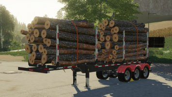 Biobeltz Log Trailer TR 500