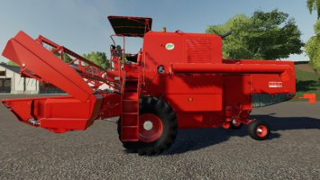 Bizon Harvester & Header Pack fs19
